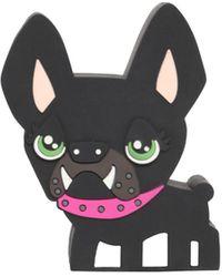 DSquared² Pvc Hilde Dog スピーカー - ブラック