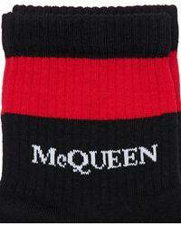 Alexander McQueen コットンブレンドソックス - ブラック