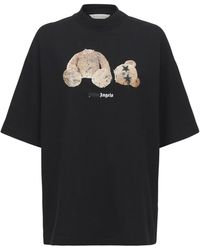 Palm Angels - Bear ルーズコットンtシャツ - Lyst