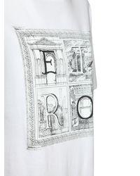 Etro コットンジャージーtシャツ - ホワイト