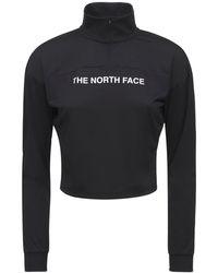 The North Face Футболка Из Стрейч-хлопка С Логотипом - Черный