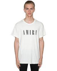 Amiri - コットンジャージーtシャツ - Lyst