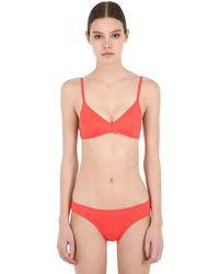 "Laura Urbinati Bikini Aus Lycra ""intimo"" - Orange"