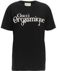 Gucci - コットンジャージーtシャツ - Lyst