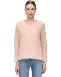 Gudrun & Gudrun Mjuka Brushed Alpaca Knit Jumper - Pink