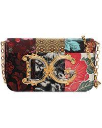"""Dolce & Gabbana Mini Patchwork-umhängetasche """"dg Girl"""" - Mehrfarbig"""