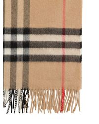 "Burberry Wollschal ""classic Check Giant Icon"" - Natur"