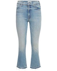 """Mother Jeans """"the Hustler"""" - Blau"""