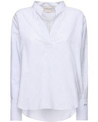 Forte Forte Рубашка Из Смешанного Хлопка - Белый