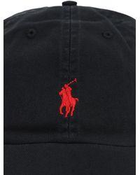 Polo Ralph Lauren Baseballkappe Mit Logo - Schwarz