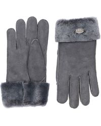 Parajumpers Woman's Shearling Gloves - Grey
