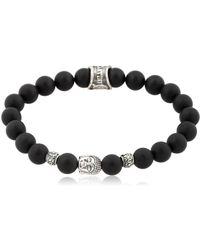 Cantini Mc Firenze - Buddha Black Bracelet - Lyst