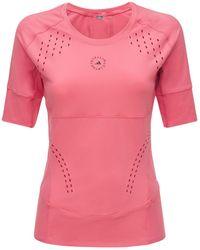 "adidas By Stella McCartney T-shirt ""truepur"" - Pink"