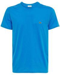 Lacoste - コットンジャージーtシャツ - Lyst