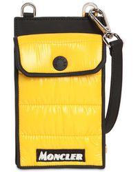 Moncler Nylon Laqué Phone Case - Yellow