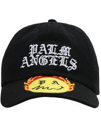 Palm Angels - Smiley Burning Head コットンキャンバスキャップ - Lyst