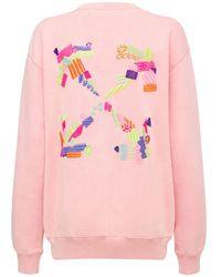 Off-White c/o Virgil Abloh Sweatshirt, Lvr Exclusive - Pink