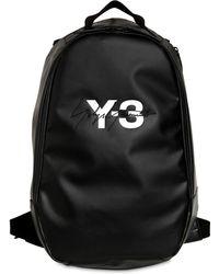 Y-3 - Logo Tarpaulin Backpack - Lyst