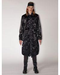 1017 ALYX 9SM Para Tech Rain Coat - Black