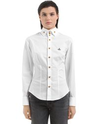 Vivienne Westwood - New Krall Cotton Shirt - Lyst