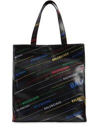 Balenciaga レザー トートバッグ - ブラック