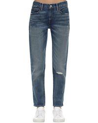 Polo Ralph Lauren Cropped Cotton Denim Jeans - Blue