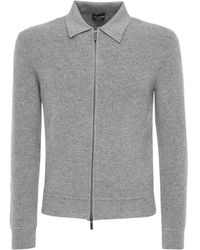 Giorgio Armani Куртка Из Кашемира - Серый