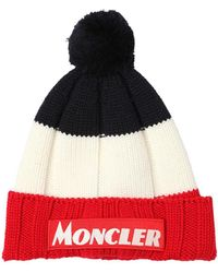 Moncler バージンウール ビーニー帽 - マルチカラー