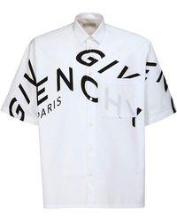 Givenchy - オーバーサイズコットンシャツ - Lyst