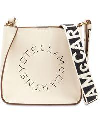 Stella McCartney Hobo Logo Faux Leather Shoulder Bag - ホワイト
