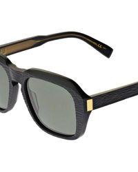 "Dunhill Oversized Sonnenbrille Aus Acetat ""rollagas"" - Schwarz"