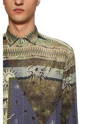 Etro Seidenhemd Mit Alchemistadruck - Mehrfarbig