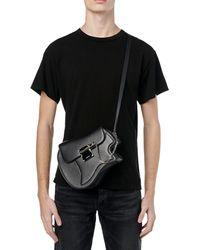 Amiri Guitar Leather Bag - Black