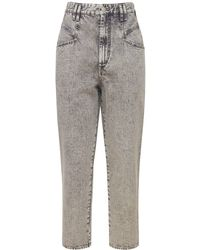 "Isabel Marant Jeans Aus Baumwolldenim ""dipadela"" - Grau"