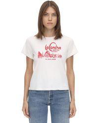 RE/DONE - La Concha Motel コットンtシャツ - Lyst