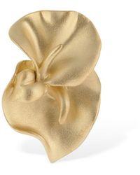 Trine Tuxen Amy Left Side Mono Earring - Metallic