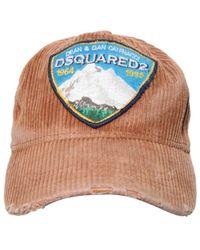 DSquared² - コットン野球帽 - Lyst