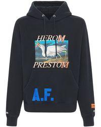 Heron Preston Худи Из Джерси - Синий