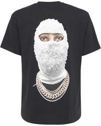 ih nom uh nit T-shirt Aus Baumwolle Mit Logodruck - Schwarz