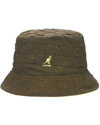 Kangol Шапка Pucker Check - Зеленый
