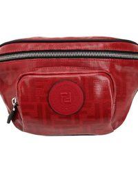 Fendi Gürteltasche Mit Logodruck - Rot