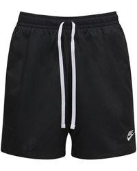 Nike Klassische, Gewebte Shorts - Schwarz