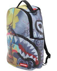 Sprayground Rapellers Printed Canvas Backpack - Mehrfarbig