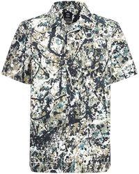 Vans X Moma Pollock ボウリングシャツ - マルチカラー
