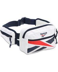 Reebok Cl Repeat Vector Belt Bag - White