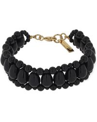 Isabel Marant Malawi Beaded Bracelet - Black