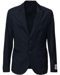 Armani Exchange Icon ナイロンブレザー - ブルー
