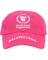 Balenciaga Кепка World Food Programme - Розовый