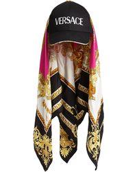Versace Кепка С Платком - Многоцветный