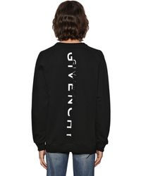 Givenchy Sweatshirt Mit Reflektieredem Logo - Schwarz